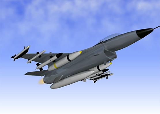 F-16 3D Model (Image)