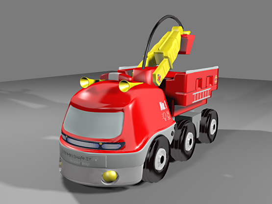 3D Toy Truck (Image)