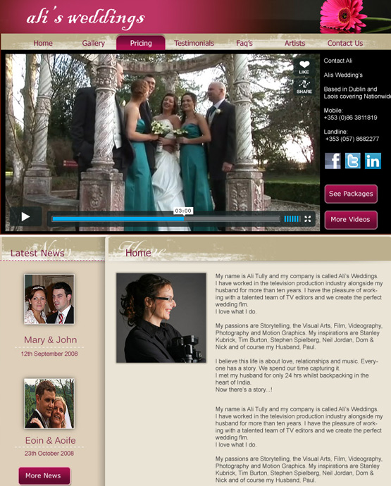 Ali's Weddings 2010