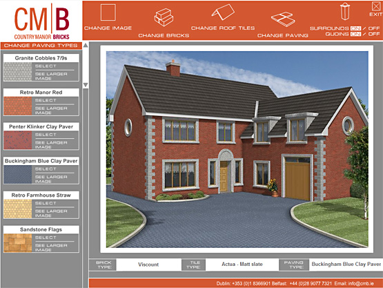 CMB Bricks Interactive presentation