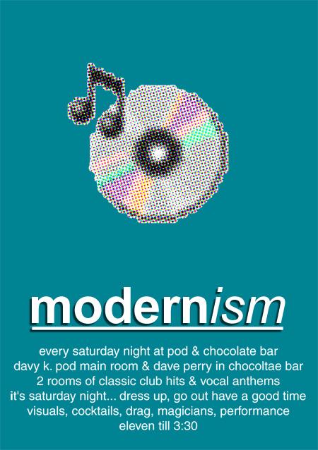 Modernism Flyer (Promotional)