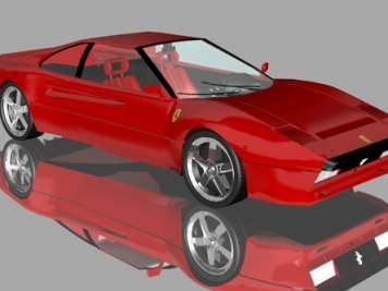 Ferrari GTO 233 3D Model